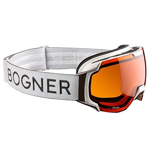 Skibrille Bogner Just-B Sonar, White