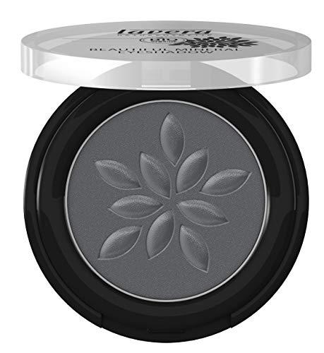 lavera Beautiful Mineral Eyeshadow -Matt'n Grey 28- Lidschatten ∙ Traumhaft sanfte Textur ∙ Vegan Naturkosmetik Natural Make-up Bio Pflanzenwirkstoffe 100% natürlich 3er Pack(3x 2 g)