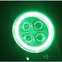 TopOne 12W LEDの仕事の軽い天使は4D点のビームオフロード運転の霧ランプのトラックATV 960lmに注目します 緑