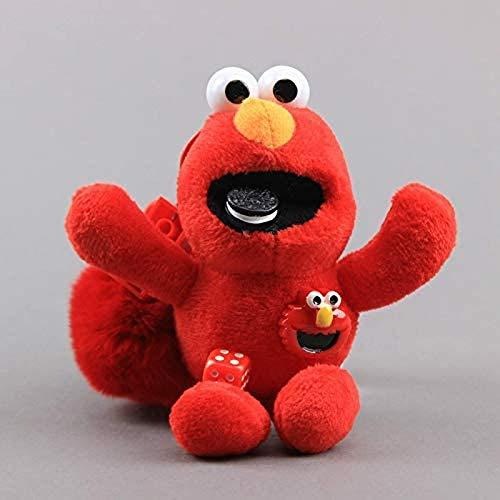 LDDZAU El muñeco de Peluche Amor Monstruo de Las Galletas Llavero de Peluche Mini muñeco de Regalo Suave para niños de 15 cm