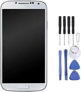 قطعة تبديل للهاتف المحمول شاشة LCD + لوحة لمس مع إطار لجهاز Galaxy S4 / i9500 Display LCD قطعة إصلاح لغالاكسي