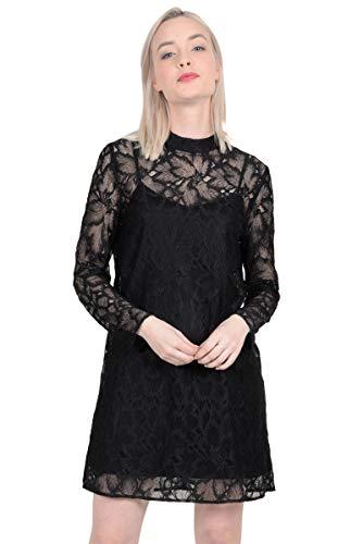 MOLLY BRACKEN ZEDEL Vestidos Mujeres Negro Vestidos Cortos