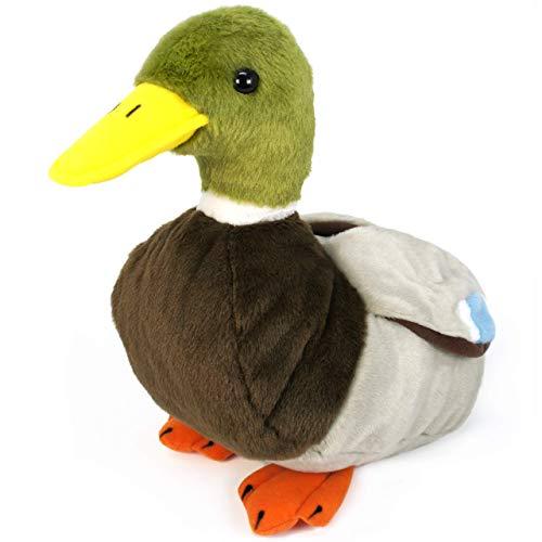 VIAHART Dakota The Duck   1 Foot Large Stuffed Animal Plush   by Tiger Tale Toys (Renewed)