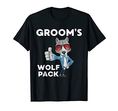 Groom's Bachelor Party Wolf Pack T Shirt