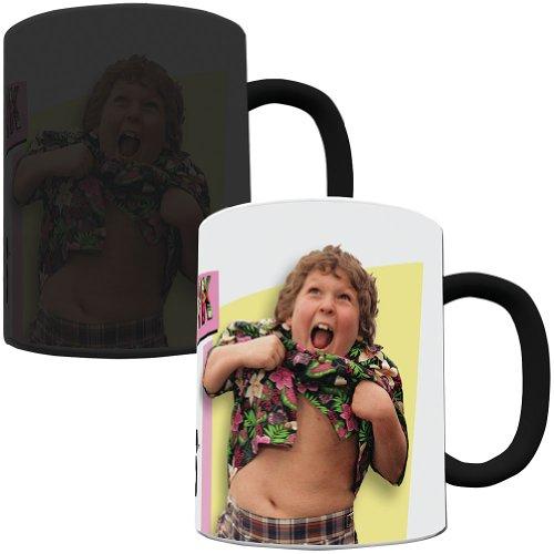 Morphing Mugs Goonies (80's Retro) Ceramic Mug, Black