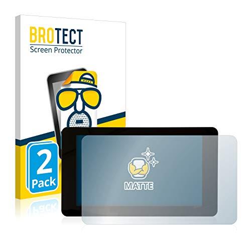 BROTECT 2X Entspiegelungs-Schutzfolie kompatibel mit Raspberry Pi Touchscreen 7