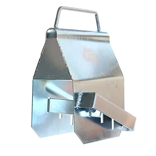 1 Kasten-Sicherung Deichselschloß-Box für Anhänger Diebstahlsicherung mit Griff Anhängerschloß Trailer Neu Old-Harvest