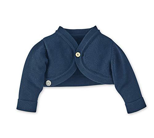 Sterntaler Strick-Bolero für Mädchen, Alter: 4-5 Monate, Größe: 62, Blau