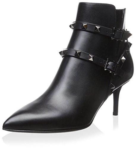 Valentino Damen Rockstud Bootie, (schwarz), 39 EU