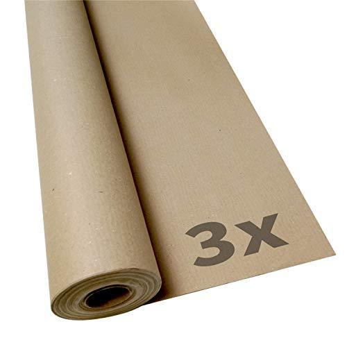 Malerabdeckpapier   100g/m² Bodenschutz   Maler Abdeckpapier   1m x 20m  , Menge:3 Rollen