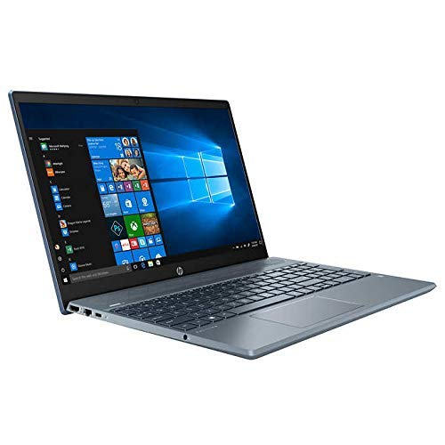 HP High Performance Pavilion 15-cs3073cl 15.6' Touchscreen Laptop - 10th Gen Intel Core i7-1065G7 - GeForce MX250 -16GB RAM - 1TB HDD - Backlit Keyboard- Fog Blue