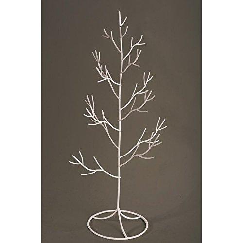 Chaks 76024, Centre de Table Arbre métal 50cm Blanc