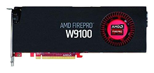 SAPPHIRE Sapphire AMD FIREPRO W9100 - Tarjeta gráfica de 16 GB (GDDR5, 930 MHz, 6 x Mini DisplayPort, PCIe, 4K), Color Negro