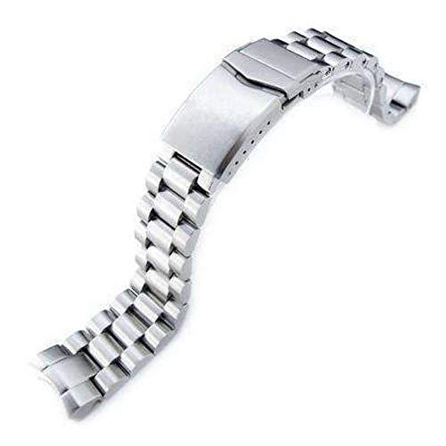 Strapcode Uhrenarmband 20mm Endmill Uhrenarmband für Seiko Sumo SBDC001, SBDC003, SBDC005, SBDC031, SBDC033, V-Verschluss