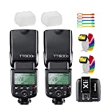Best Godox Ttl Flashes - Godox TT600S 2PCS Camera Flash Speedlite GN60 High-Speed Review