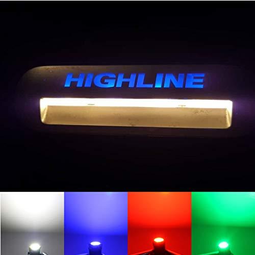 LED-Mafia® Trittbrettstufenbeleuchtung - Halogen Trittbrettbeleuchtung - (4 x rot)