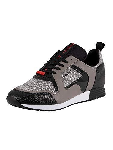 Cruyff Heren Lusso lederen sneakers, Grijs