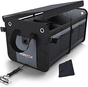 Fortem Foldable Non-Slip Waterproof Car Trunk Organizer