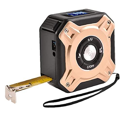 LAANCOO Cinta métrica Medidor de Distancia Digital 5m 40m Cinta de Infrarrojos Range Finder con Pantalla LCD portátil de medición de Herramientas