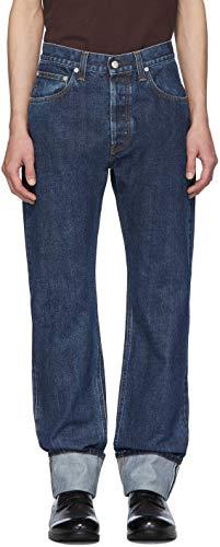 [ヘルムート ラング] ジーンズ メンズ ブルーカフ付きMASCハイテクストレートジーンズ Helmut Lang Men`s jeans(並行輸入品)