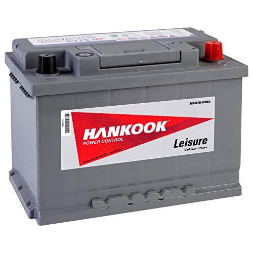 Hankook XV75 12V 75Ah Batterie Décharge Lente Pour Loisir, Caravane, Camping Car, Bateau - 278x175x190mm