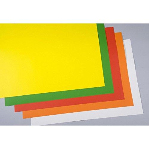 Plakatkarton orange 60x85cm