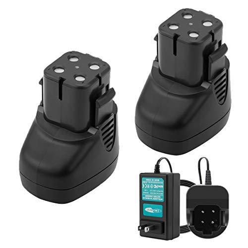Creabest 2Packs 7.2V 3.5Ah Ni-MH Battery for...