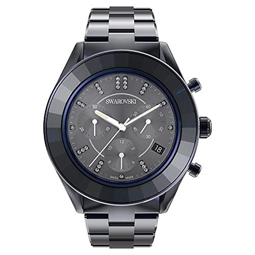 Swarovski Reloj Octea Lux Sport, Brazalete de Metal, PVD Azul