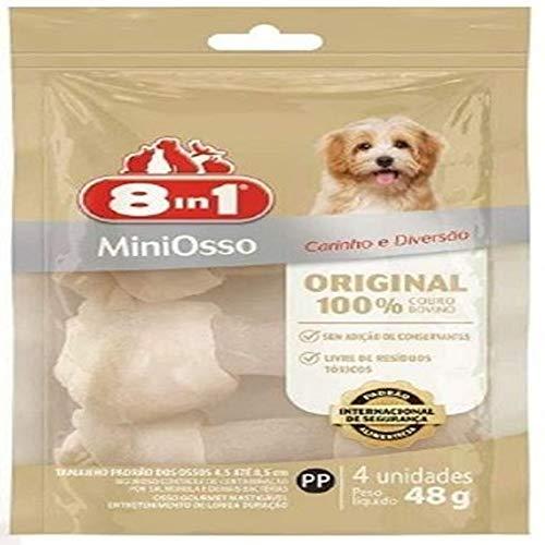 Osso Original Mini com 4Un 8In1 8IN1 para Todas Todos os tamanhos de raça Todas as fases - Sabor Sem sabor