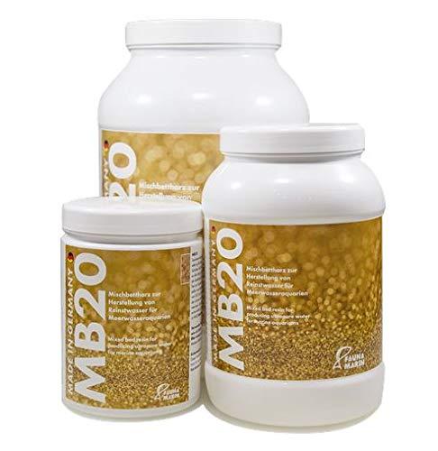 Fauna Marin Resina de canapé mixta MB 20, 1000 ml, resina de intercambio iónico