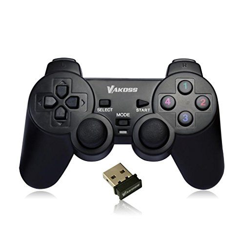 Vakoss - Wireless Joypad Dual-Shock Function