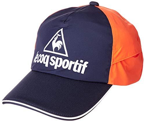 [ルコックスポルティフゴルフ] 【20年秋冬モデル】帽子 QGBNJC00 メンズ NVOR(ネイビーオレンジ) 日本 F (FREE サイズ)