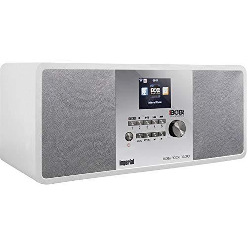 Imperial BOBs Rock Radio Internet- und DAB+ Digitalradio, Farbe:weiß