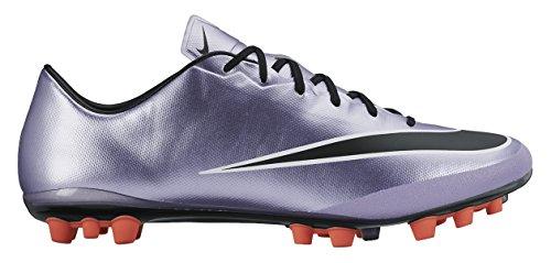 Nike Herren Mercurial Veloce II AG-R Fußballschuhe, Violett/Schwarz (Urbn Lilac/Blk-Brght MNG-White), 45 1/2 EU