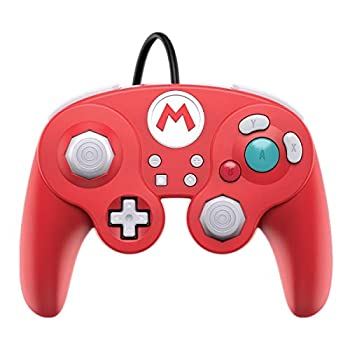 PDP Gaming Super Mario Bros Wired Fight Pad Controller  Mario GameCube Inspired - Nintendo Switch
