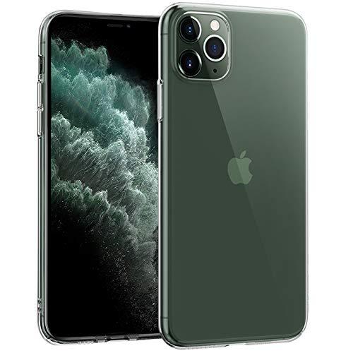 NEW'C Funda para iPhone 11 Pro, Anti-Choques y Anti-Arañazos, Silicona TPU, HD Clara
