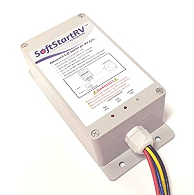 SoftStartRV SSRV3T by NetworkRV Enables An RV Air Conditioner To Start And Run On A Small Generator, Or Limited Power, When It Would Otherwise Not Have Started + Bonus Gift