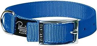 "Prestige Pet Products Double Layer Nylon Collar 1"" X 16"" (41cm), Blue"