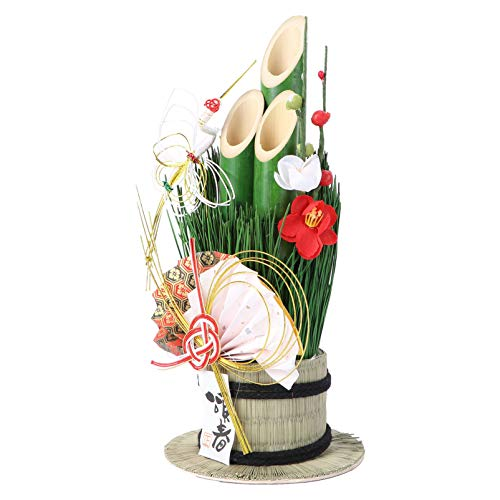 BESPORTBLE Japanese Bamboo Decorations Bamboo Style Sushi Restaurant Flower Desktop Ornament Japanese Chinese New Year Party Decoration