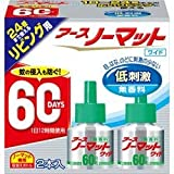 [EARTH PHARMACEUTICAL] Earth No Matte Living Replacement Bottle 60 Days Unscented 2 pieces x 3 pieces