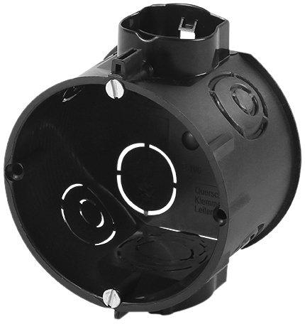 f-tronic Unterputz-Gerätedose, 45mm tief, Schrauben, E106M25S, Inhalt: 25, Stück