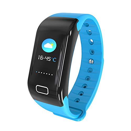 Smartwatch,Fitness Tracker,Smartwatch Pedometro,Orologio Fitness Braccialetto Schermo a Colori Watch Bracciale Cardiofrequenzimetro da Polso,Impermeabile IP68 Donna Uomo per iOS Android Smartphone