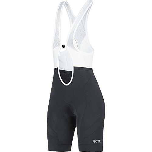 Gore Wear C5 Pantalón Corto Tirantes, Mujer, Negro, 38