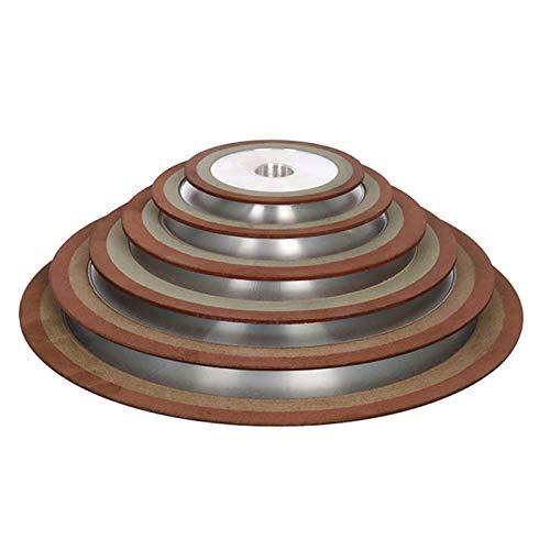 HHOSBFSS Diamond Grinding Wheel 75/100, 50/180/240/320 Rough Grinding Tungsten Steel Milling Cutter Carbide Metal Grinding Wheel. (Color : 320, Size : 75mmX20mm)