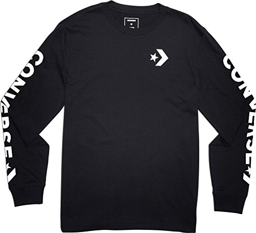 Converse Herren Star Chevron Track Jacket Jacke, Schwarz Black 001, Medium