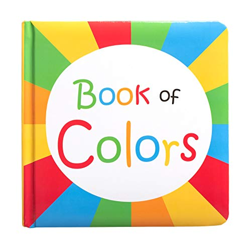 Kate & Milo Baby Board Book of Colors, Books for Babies, Fun with Colors, Toddler or Baby Learning Book