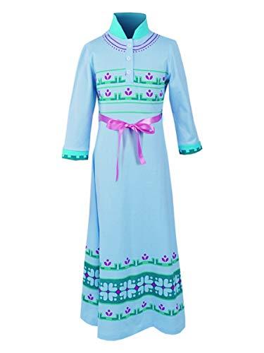 CoolChange Nachthemd der Eiskönigin Elsa I Kinder Kostüm für Frozen Fans I Größe: 110