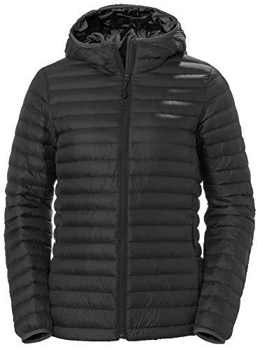 Helly Hansen W Sirdal Hooded Insulator Jacket Chaqueta, Mujer, Black, L