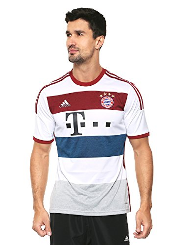 adidas Performance Herren Away-Trikot FC Bayern Away Replica Player Jersey - weiss - XL