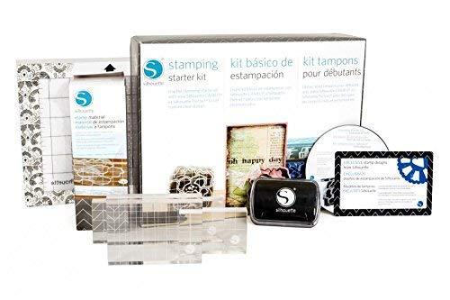 Silhouettes Estampación starter kit para crear sellos personalizados
